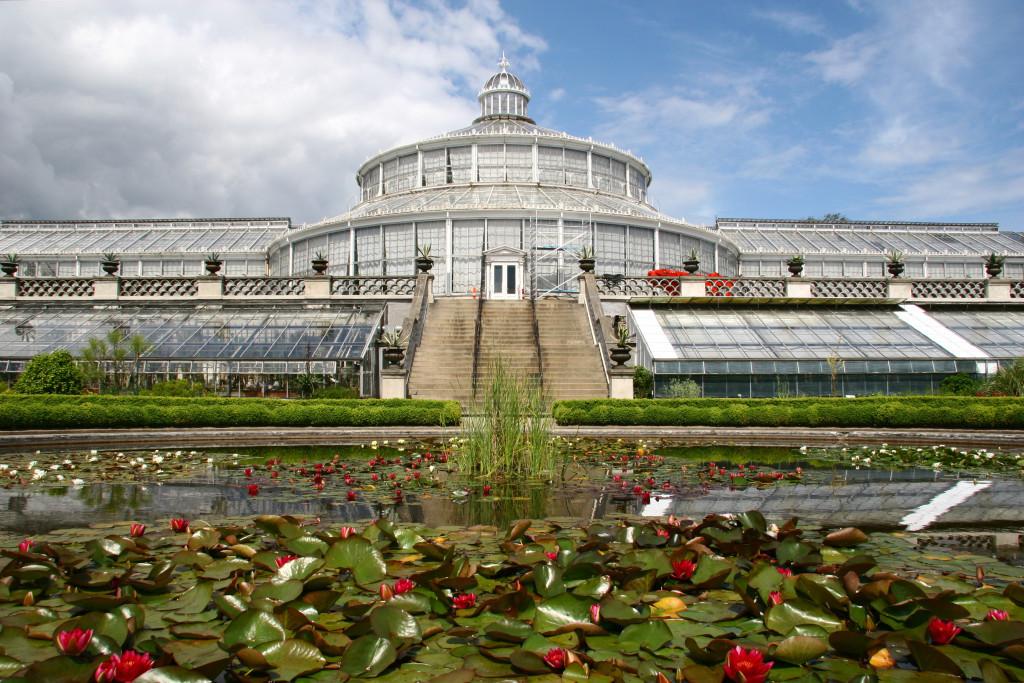 Botanisk Have - Das Palmenhaus im Botanischen Garten von Kopenhagen