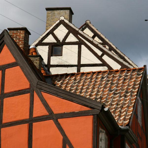 Fachwerkhäuser in Kopenhagen