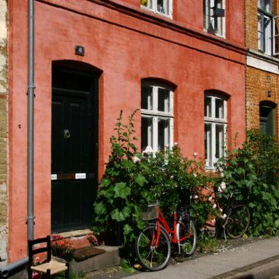 Häuserzeile in der Sankt Pauls Gade