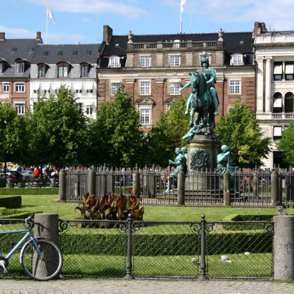 Hesten - Reiterstatue des Königs auf dem Kongens Nytorv