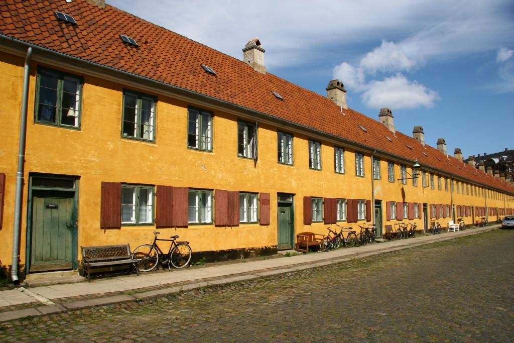 Nyboder - weltbekanntes Stadtviertel für Seeleute in Kopenhagen