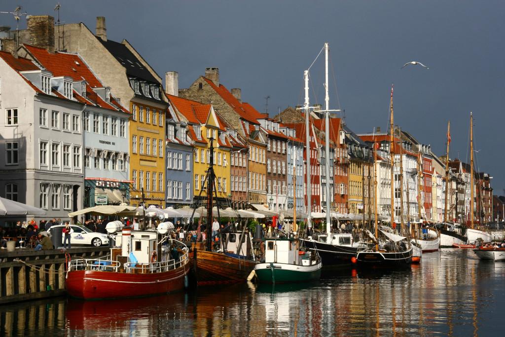 Nyhavn - Neuer Hafen in Kopenhagen