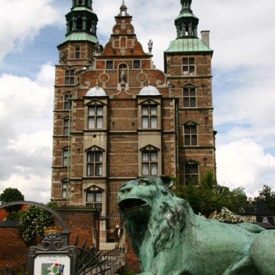 Rosenborg Slot - Löwe vor Schloss Rosenborg
