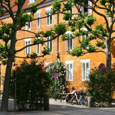 Rosengade in Kopenhagen