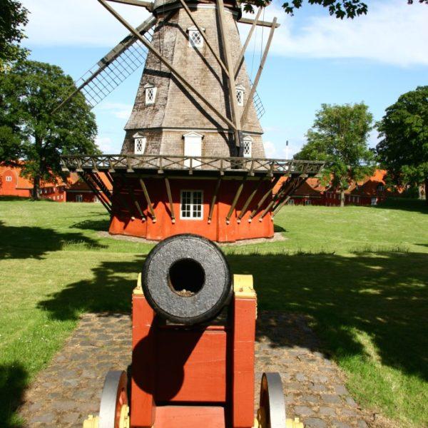 Windmühle beim Kastell von Kopenhagen