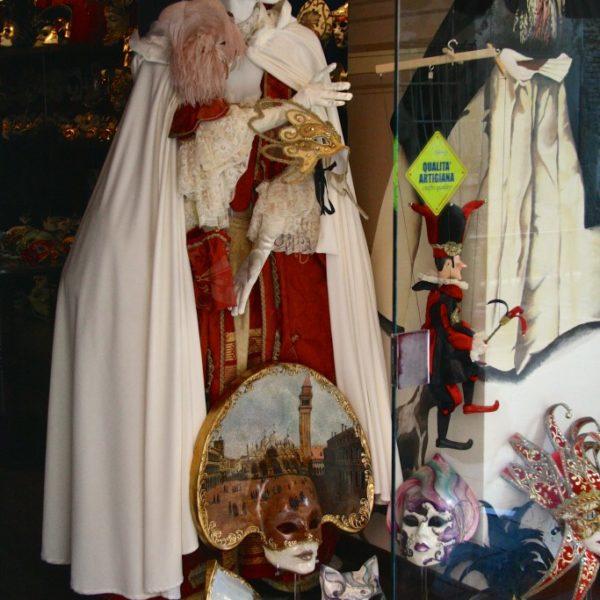 Karnevalskostüme in Venedig