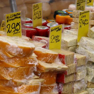 Käse auf dem Markt in Amsterdam