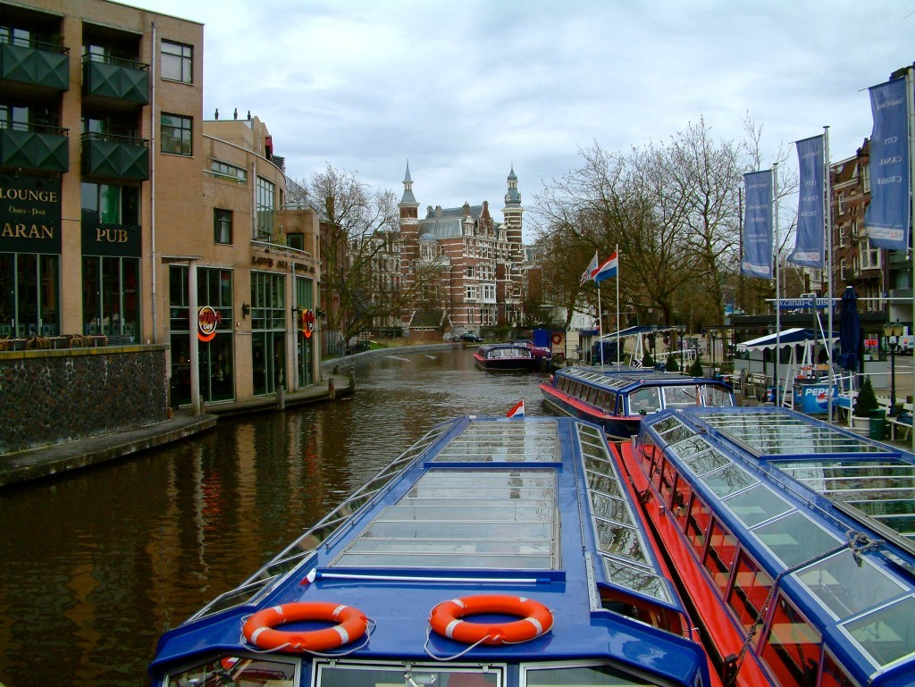 Singelgrachtkering-Kanal in Amsterdam