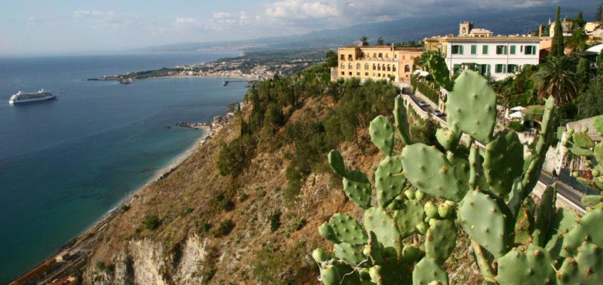 Taormina – Malerische Terrassen des Monte Tauro