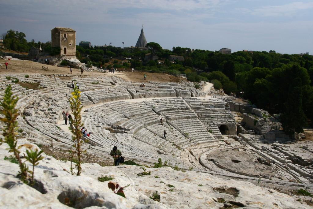 Parco Archeologico della Neapoli - Teatro Greco in Sirakus