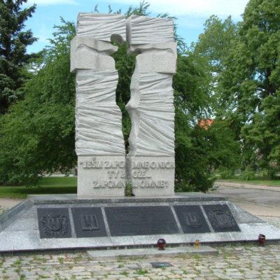 Pomnik ofiar Ukraińskiej Powstańczej Armii in Breslau