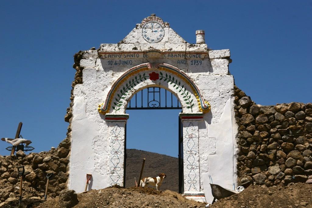 Campo Santo de Cabanaconde im Cañon del Colca