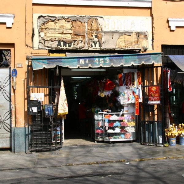Einkaufsstraße in Lima