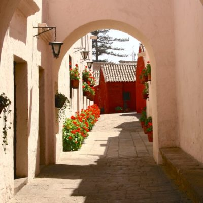 Gasse im Convento Santa Catalina