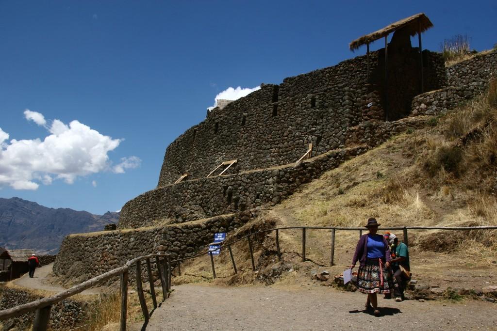 Inka-Festung von Písac in Urubamba-Tal