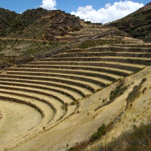 Inka-Terrassen & Ruinen von Písac in Urubamba-Tal