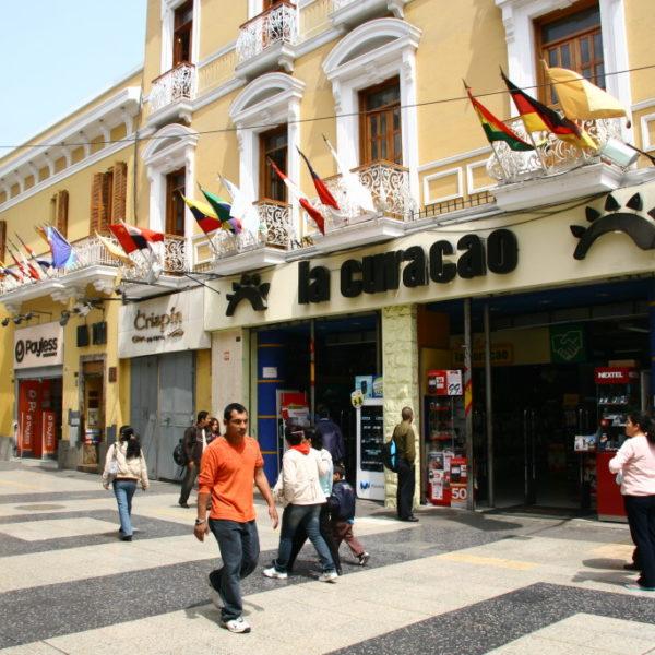 Jiron de la Union - Fußgängerzone in Lima