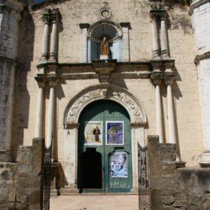 Kirche in Cabanaconde im Colca Canyon : Peru