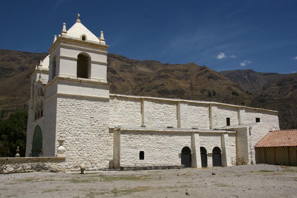 Kirche in Chivay / Peru