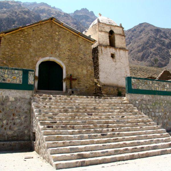Kirche von Malata im Cañon del Colca