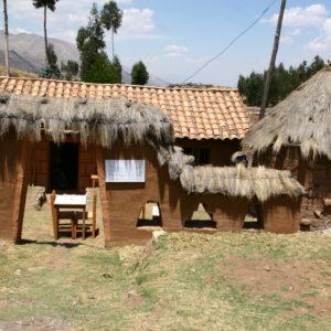 Kleiner Familienbetrieb zum Einkehren bei  Puka Pukara