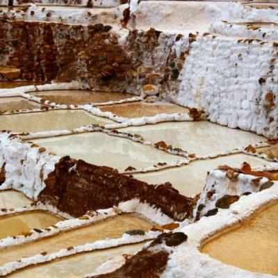 Salineras de Maras - Becken der Salzterrassen