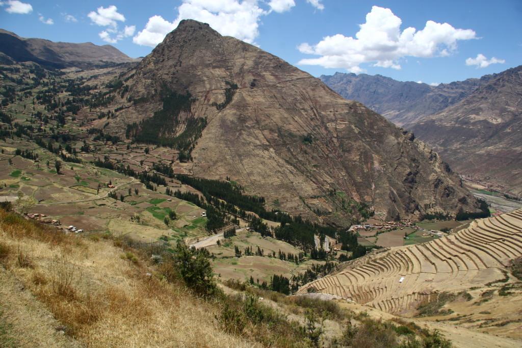 Terrassen von Písac im heiligen Tal der Inka