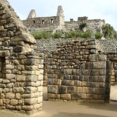 Wohnkomplex in Machu Picchu
