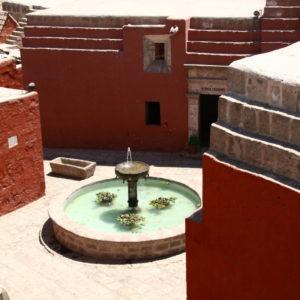 Brunnen im Kloster Santa Catalina