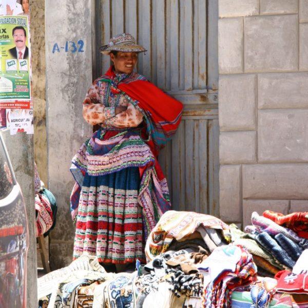 Cholita in Chivay / Peru