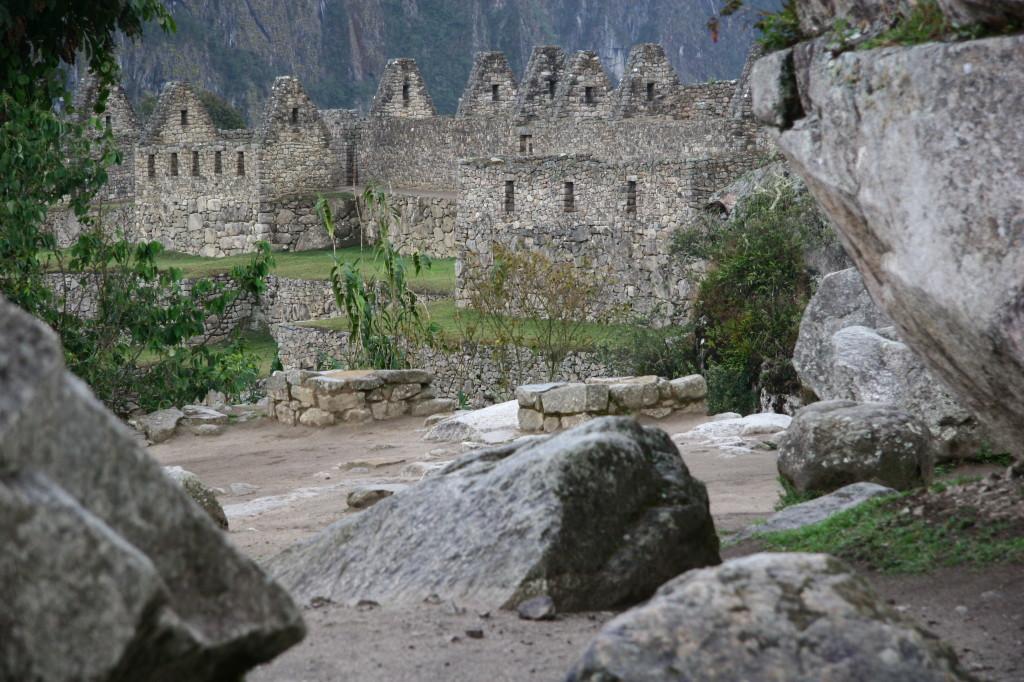 Die Häuser der Adligen von Machu Picchu