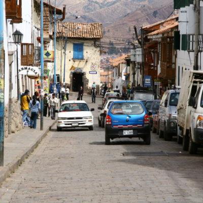 Gasse im Zentrum von Cusco