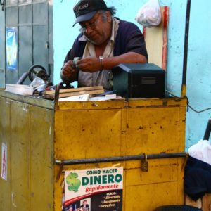 Handwerker in Arequipa