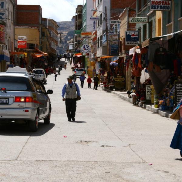 Hauptstraße in Copacabana
