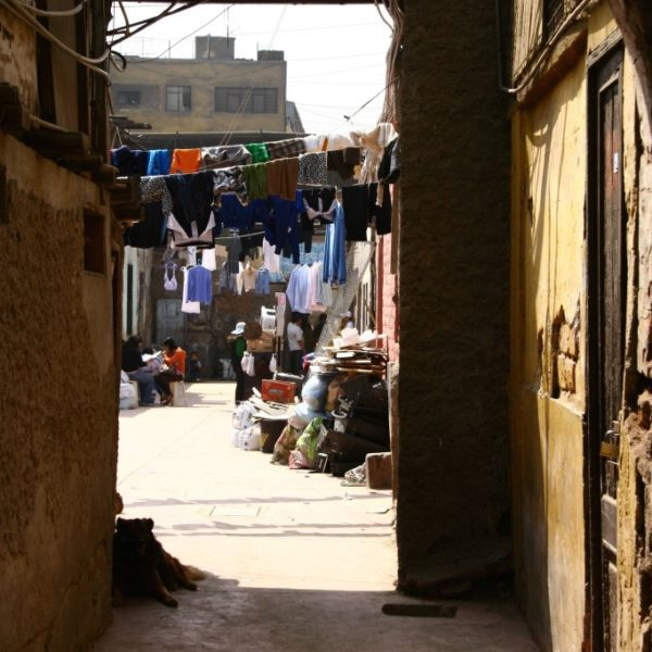 Jirón Andahuaylas - Wäscheleinen-Zauber in den Hinterhöfen von Lima