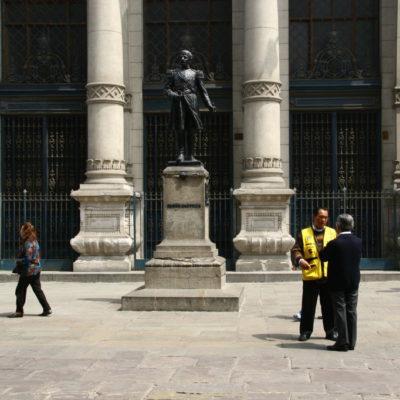 Jiron de la Union - Statue von Ramón Castilla in Lima