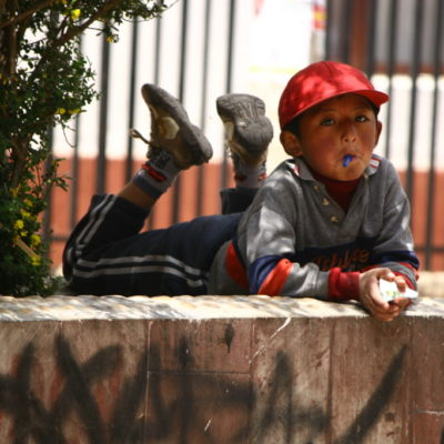 Kind in Puno