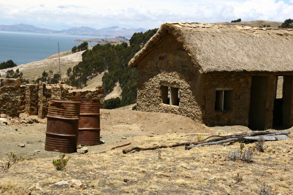 Lehmhütte auf der Isla de Sol