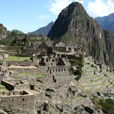 Machu Picchu - Ruinenstadt in Peru