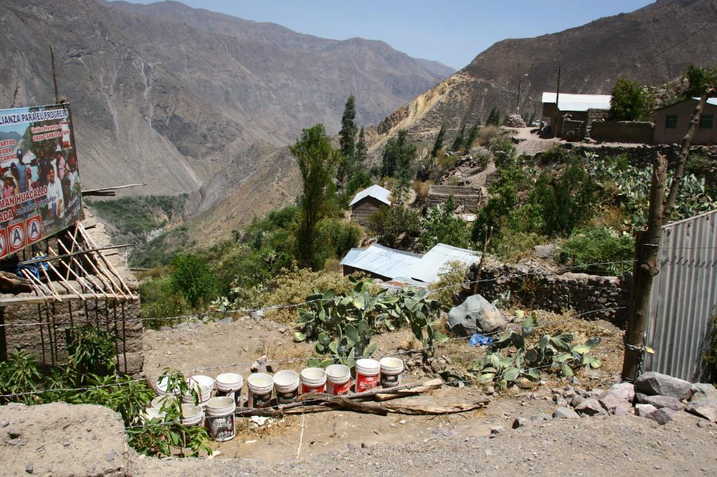 Malata - Kleines Dorf in den Hängen des Cañon del Colca