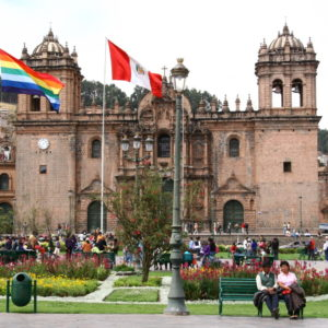 Plaza de Armas, Dom & Zentraler Platz von Cusco, Peru