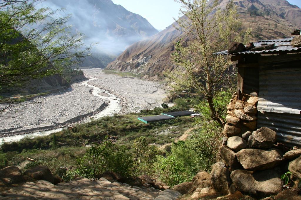 Río Urubamba - Das Urubamba-Tal in den Anden in Peru