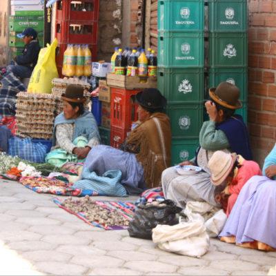 Straßenverkauf in Copacabana