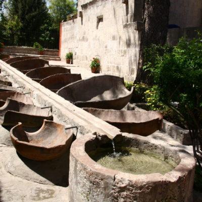 Waschtröge im Kloster Santa Catalina