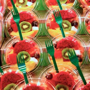 La Boqueria - Obstsalate to go