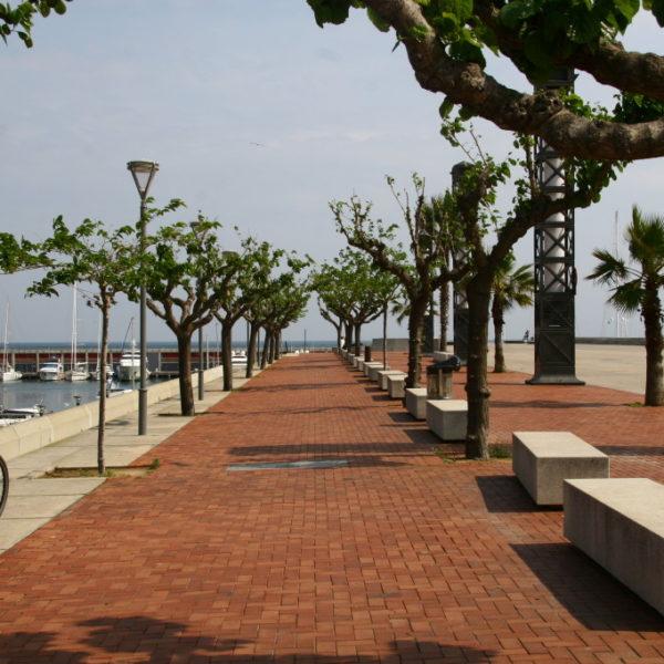 Port Olímpic de Barcelona - Carrer de la Marina