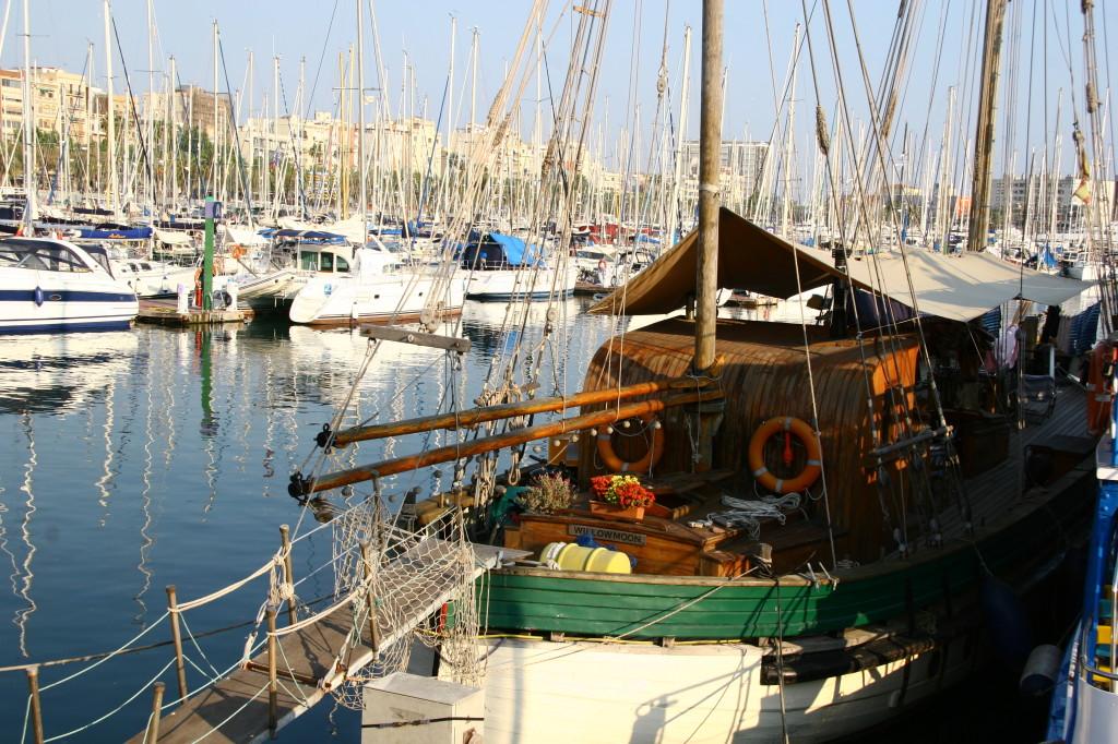 Port Vell - Der alte Hafen von Barcelona