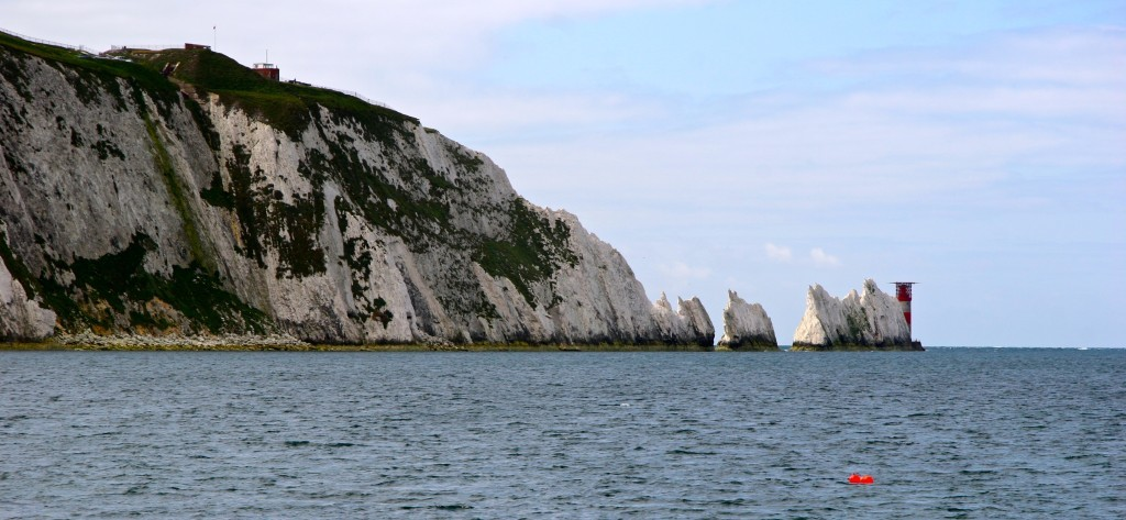 The Needles - Kalkinseln bei Isle of Wight