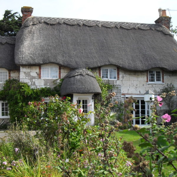 Traditional Thatching Cottage - Haus mit Reetdach auf der Isle of Wight