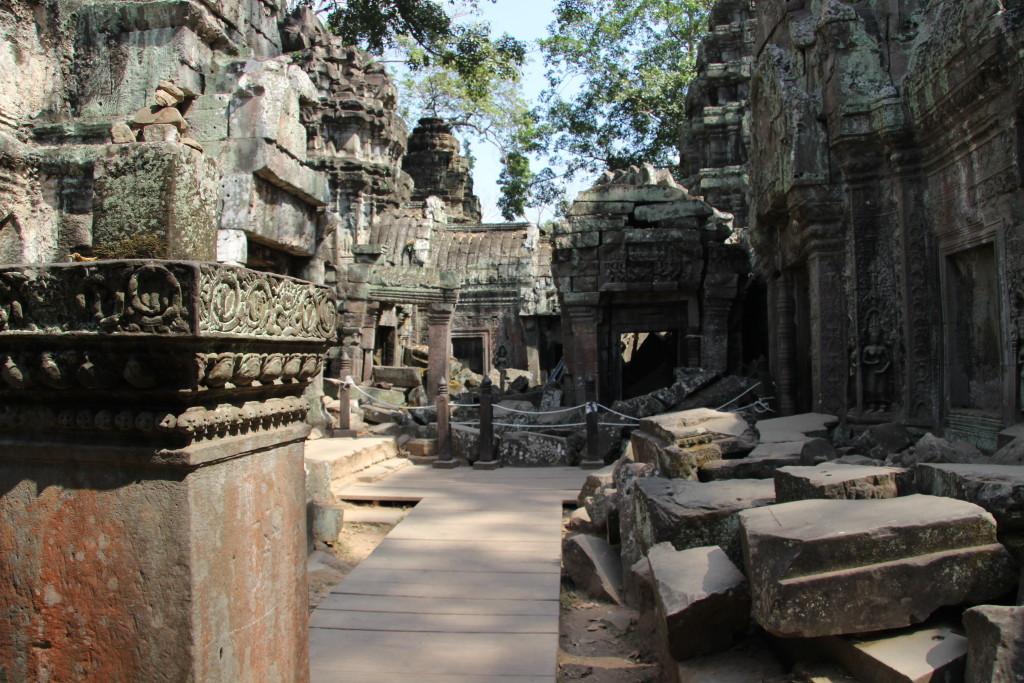 Ta Prohm - Der Tomb-Raider-Tempel